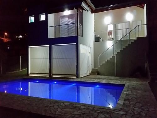 Imagem 1 de 24 de Linda Casa Em Condomínio De Itupeva, Com Piscina E Churrasqueira. - 22641 - 32072727