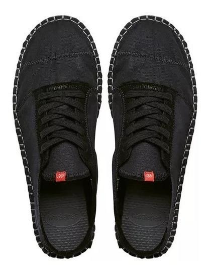 Alpargatas (tênis) Havaianas Sneaker - Preto