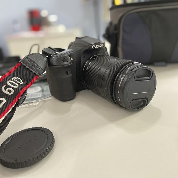 Câmera Canon Eos 60d Completa