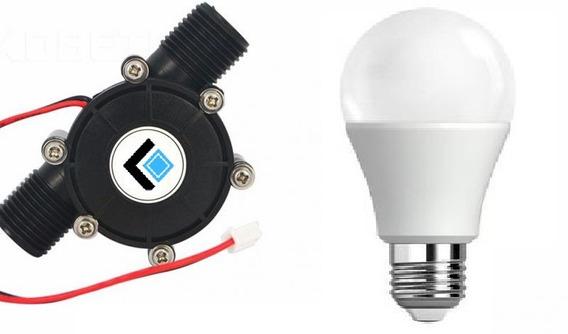 Mini Gerador Hidrelétrico | 12v 10w + Lampada Led 12v 9w