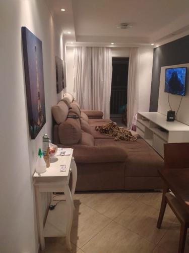 Apartamento À Venda, 3 Quartos, 1 Suíte, 2 Vagas, Vila Rosália - Guarulhos/sp - 1997