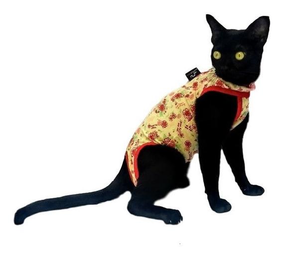 Roupa Pós-cirúrgica Gatos Estilo Pet N° 01