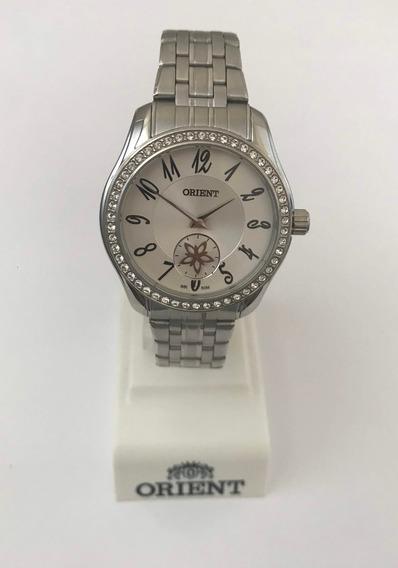 Relógio Orient Fbss0048 Aço Prata C/ Cristais