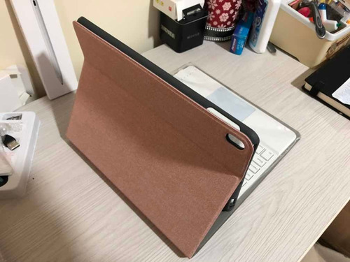 Case Con Teclado Y Touchpad 10.2 Rose Gold