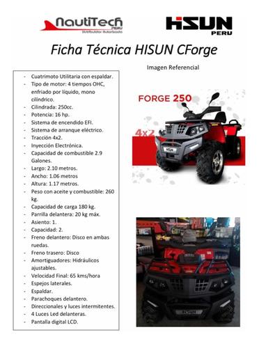 Imagen 1 de 10 de Hisun Cforge 250