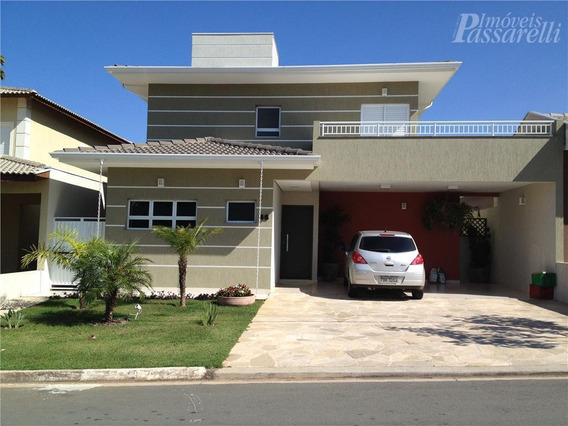 Casa Residencial À Venda, Condomínio Bosque Dos Cambarás, Valinhos. - Ca1390