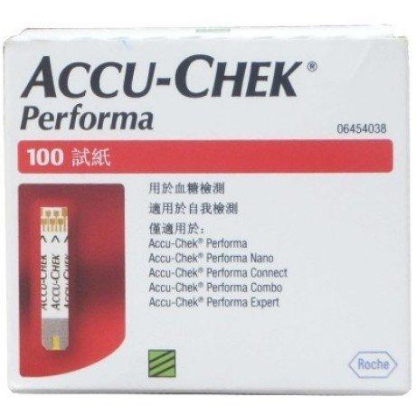 Accuchek Performa 100 Stips
