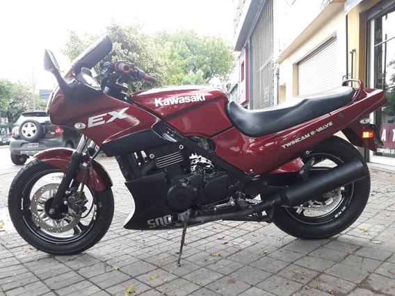 Kawasaki Ex 500 Año 1992 Muy Buena, Recibo Inferior Financio