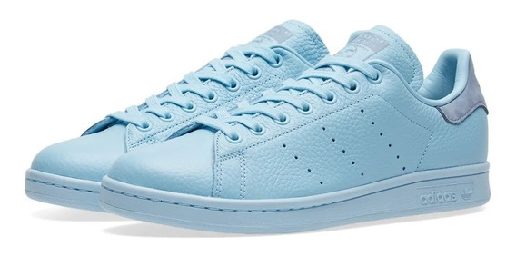 Tênis adidas Stan Smith Iceblu Pharrell Williams 36br