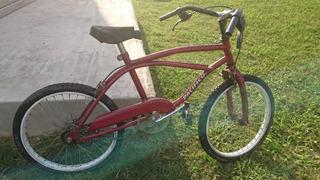 Bicicleta Para Niños Rodado 20 Playera Pacífico