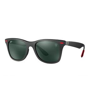 Óculos Ray-ban Rb4195 Wayfarer Liteforce Ferrari + Brinde