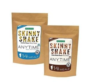 Combo Reduxim Skinny Shake 1 Vainilla + 1 Café Moka Malteada
