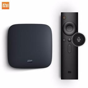 Xiaomi Mi Box 4k Android Tv 6.0 Global,reconhecimento De Voz