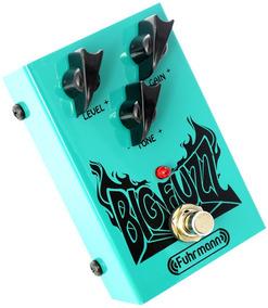Pedal Fuhrmann Big Fuzz Bz01 Para Guitarra True Bypass.