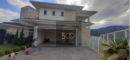 Casa Com 3 Dormitórios À Venda, 300 M² Por R$ 1.700.000,00 - Cidade Universitária Pedra Branca - Palhoça/sc - Ca0655