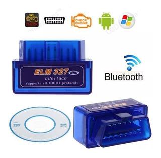 Escaner Automotor Bluetooth Scanner Elm327 Obd2 Multimarca