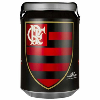 Cooler Térmico Para 24 Latas Clube Flamengo - Pro Tork