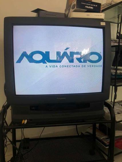 Tv Panasonic 29 Pol Combo Video Cassete