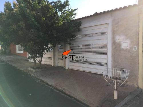 Casa Com 3 Dormitórios À Venda, 80 M² Por R$ 345.000,00 - Jardim Castelo Branco - Ribeirão Preto/sp - Ca0991