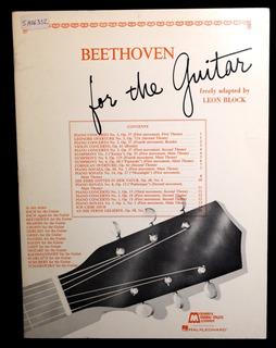 Partitura Guitarra, Beethoven For The Guitar