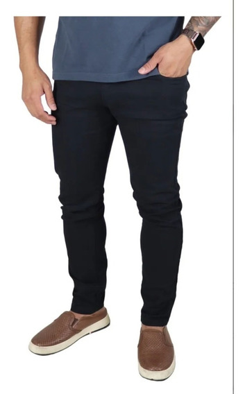 Calça Masculina Jeans Slim De Sarja - Pronta Entrega