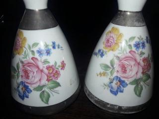 Antiguas Y Hermosas Botellas Perfumeras Porcelana Sinsello
