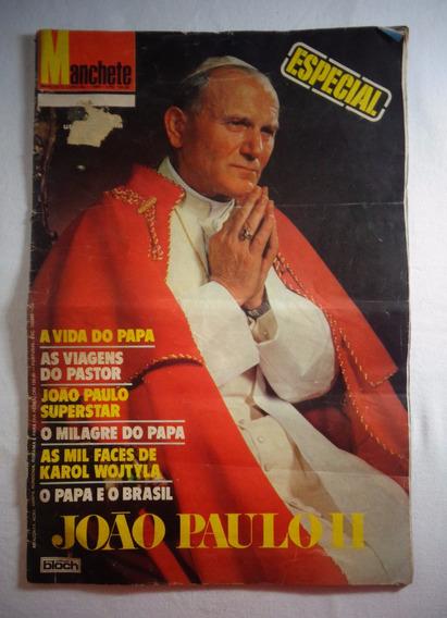 Revista Manchete Papa João Paulo 2° Edição Especial 1980