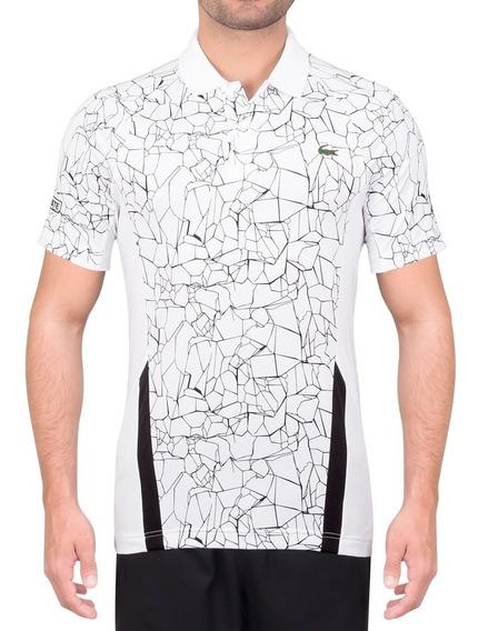 Camisa Polo Lacoste Novak Djokovic Special Dh9466 Branca