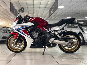 Cbr 650 F Ano 2017 Financiamos 36x Com Pequena Entrada