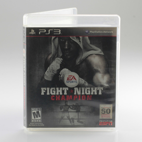 Fight Night Champion Ps3 Playstation 3 Mídia Física
