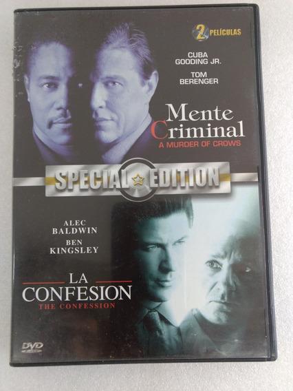 Dvd Doble Película. Mente Criminal/la Confesión.