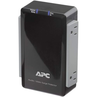 Apc P4v Wall-mount Surge Protector With Coaxial