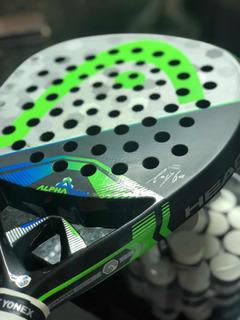 Raquete De Padel Head Alpha Pro (sanyo) + 20 Grips Grátis