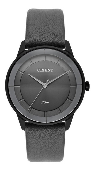 Relógio Fem Orient Pulseira Couro Legítimo 30m Fpsc0005-p1px