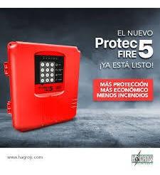 Central Contra Incendio Hagroy Protec Fire 5 Zonas