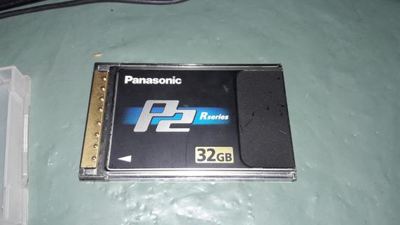 Cartão De Memória Panasonic P2 32gb Aj-p2c032rg (2242)