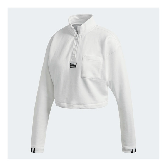 Buzo adidas Originals Cropped Sweat Mujer Fm2505