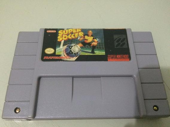 Super Soccer - Super Nintendo - Original Playtronic - V12
