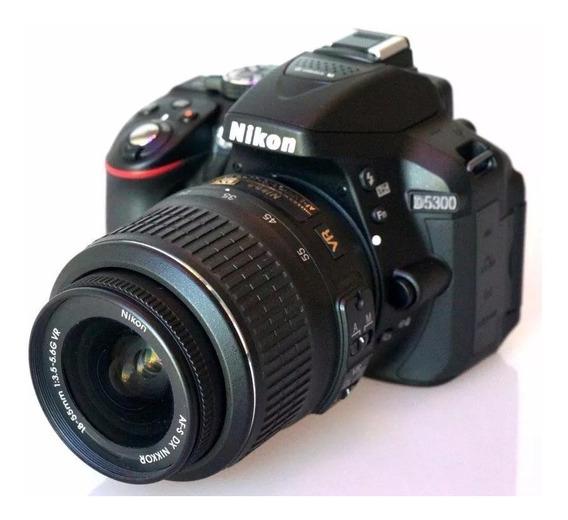 Câmera Nikon D5300 +16gb Class 10 + Bolsa - Usada