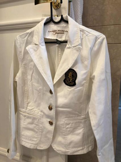 Jaqueta Branca Jeans Ralph Lauren
