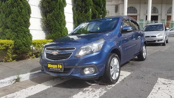 Chevrolet Agile Ltz 1.4 8v Automático Completo Azul 2014