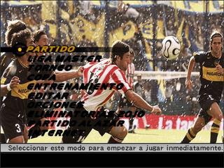 Pes Futbol Argentino Apertura 2006/clausura 2007 Ps2