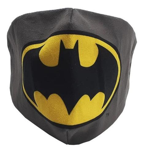 Máscara De Proteção Facial Veludo Batman Zc 10071514