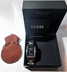 Relógio Guess G95291g Pulseira De Aço