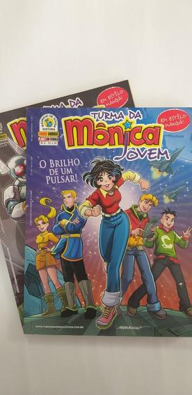 Kit Turma Da Monica Jovem Vol 6 E 7 - O Brilho De Um Pulsar