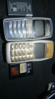 Lote 2 Celulares Nokia Ligando