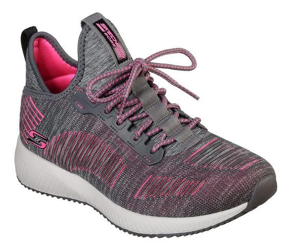 Zapatillas Skechers Bobs Squad Importadas Mujer Deportivas