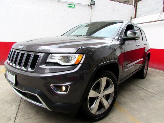 Jeep Grand Limited Cherokee, Piel Qc Seminueva!! 2015