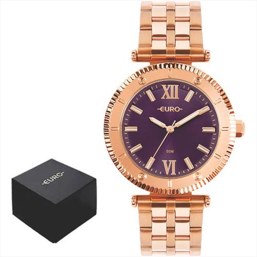 Relógio Euro Feminino Original Garantia 1 Ano A Prova Dágua