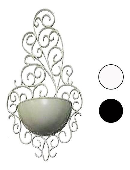 2 Vaso Decorativo Arandela Branco Horta Suspenso Vertical
